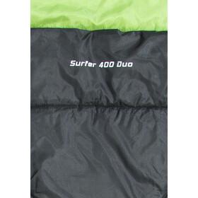 CAMPZ Surfer 400 Śpiwór Duo, szary/zielony
